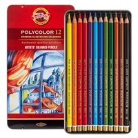 COLOR PENCIL SET POLYCOLOR SET 12 FA3816.12