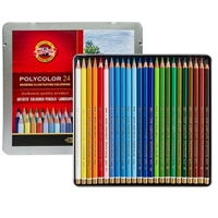 COLOR PENCIL SET POLYCOLOR SET 24 FA381824OT