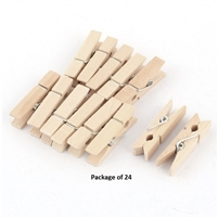 CLOTHESPINS NAT 2.75IN 24PK CE3683-01