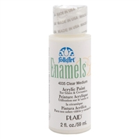 ENAMEL - CLEAR MEDIUM 2 OZ. 4035