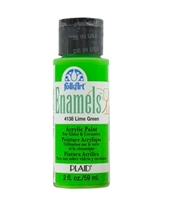 ENAMEL LIME GREEN 2OZ 4138