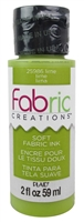 FABRIC PAINT CREATIONS LIME 2 OZ 25986