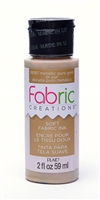 FABRIC PAINT CREATIONS METALLIC GOLD 2 OZ 26187