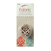 BLOCK PRINTING STAMPS BAROQUE FLOURISH 27190-disc