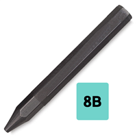 WS Jumbo Graphite Stick 8-B Artists - WSG-8B