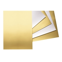 RAIL BOARD 22X28 GOLD 5498-1