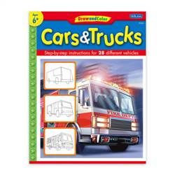 BOOK KIDS CARS AND TRUCKS KDS4