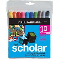 MARKER SET PRISMACOLOR SCHOALAR BRUSH TIP SET 10 1774268