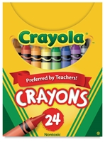 CRAYON CRAYOLA 24CT PEG (3) CX52-3024