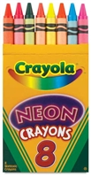 CRAYON SET NEON 8CT (12) CX52-3418