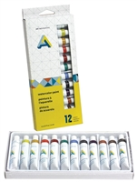 WATERCOLOR PAINT SET 12X12ML AA1115