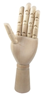 MANIKIN HAND LEFT 12 inches AA3212L