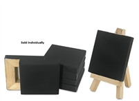 CANVAS MINI CANVAS BLACK 3X3 Inches 100/DP AA10118