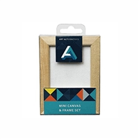 CANVAS MINI CANVAS & FRAME PINE 2.5X3.5 AA10132