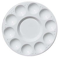 PALETTE PLASTIC ROUND 7 INCH AA15420