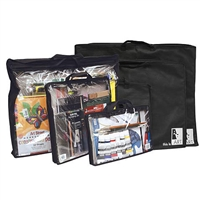 ZIPPERED BAG BLACK 10X14 AABAGKIT1014