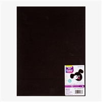 FOAMIES BLACK 2MM 9X12 SHEET DZ1144-12