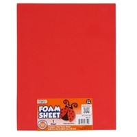 FOAMIES RED 2MM 9X12 SHEET DZ1144-14