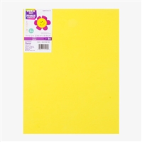 FOAMIES YELLOW 2MM 9X12 SHEET DZ1144-22