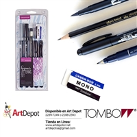 CALLIGRAPHY TOMBOW LETTERING SET BEGINNER TB56190