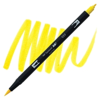 MARKER TOMBOW DUAL BRUSH 055 PROCESS YELLOW TB56505