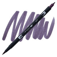 MARKER TOMBOW DUAL BRUSH 679 DARK PLUM TB56577