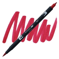 MARKER TOMBOW DUAL BRUSH 847 CRIMSON TB56597