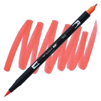 MARKER TOMBOW DUAL BRUSH 905 RED TB56605