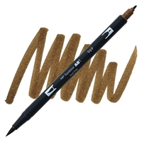 MARKER TOMBOW DUAL BRUSH 969 CHOCOLATE TB56613