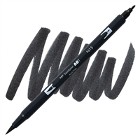 MARKER TOMBOW DUAL BRUSH N15 BLACK TB56621