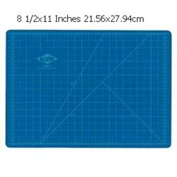 CUTTING MAT BLUE/GRAY 8.5X12 HM0812