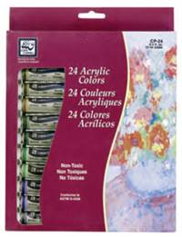 ACRYLIC SET LOEW 24 X 12ml  TUBES CP-24