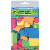 WOODSIES BASIC SHAPES 200 PKG 1021164
