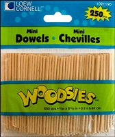 DOWELS MINI 2-5/8 X 5/64 250 PK 1021190