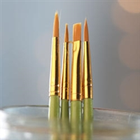 BRUSH SET 2036 Golden Nylon 4PC SH 2036