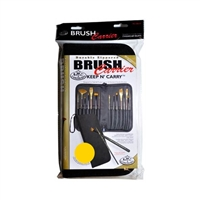 BRUSH CARRIER EMPTY SHORT HANDLE KC-SBLK