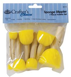 SPONGE STIPPLER 7 PC SET RD115