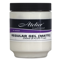 GEL REGULAR MATTE INTER 250ML 4759