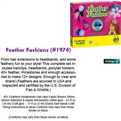 FEATHER FASHIONS 1974
