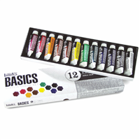 ACRYLIC SET LIQITEX BASICS SET 12X22ML TU LQ101012