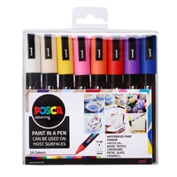 POSCA PAINT MARKER SET PC-5M MEDIUM SET/16 BASIC PXPC5M16A