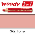 WATER SOLUBLE WAX PENCIL STABILO SKIN TONE SW880-355