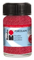 PORCELAIN 15ML GLITTER RED MR1105039532