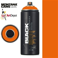 SPRAY MONTANA BLACK NC PURE ORANGE MXB-2075
