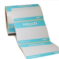 STICKER HELLO MY NAME IS BLUE MXG466229