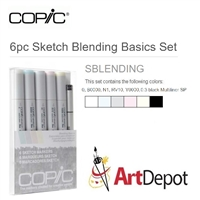 COPIC SKETCH MARKER SET 6PC BLENDING BASICS CMSBLENDING
