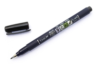 BRUSH PEN FUDENOSUKE HARD BLK TB82035
