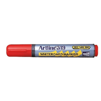 MARKER WHITEBOARD ARTLINE 519 RED CHISEL EK-519R