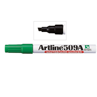 MARKER WHITEBOARD ARTLINE 509 GREEN CHISEL EK-509V