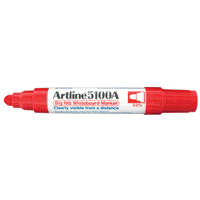 MARKER WHITEBOARD ARTLINE 5100R RED JUMBO EK-5100R